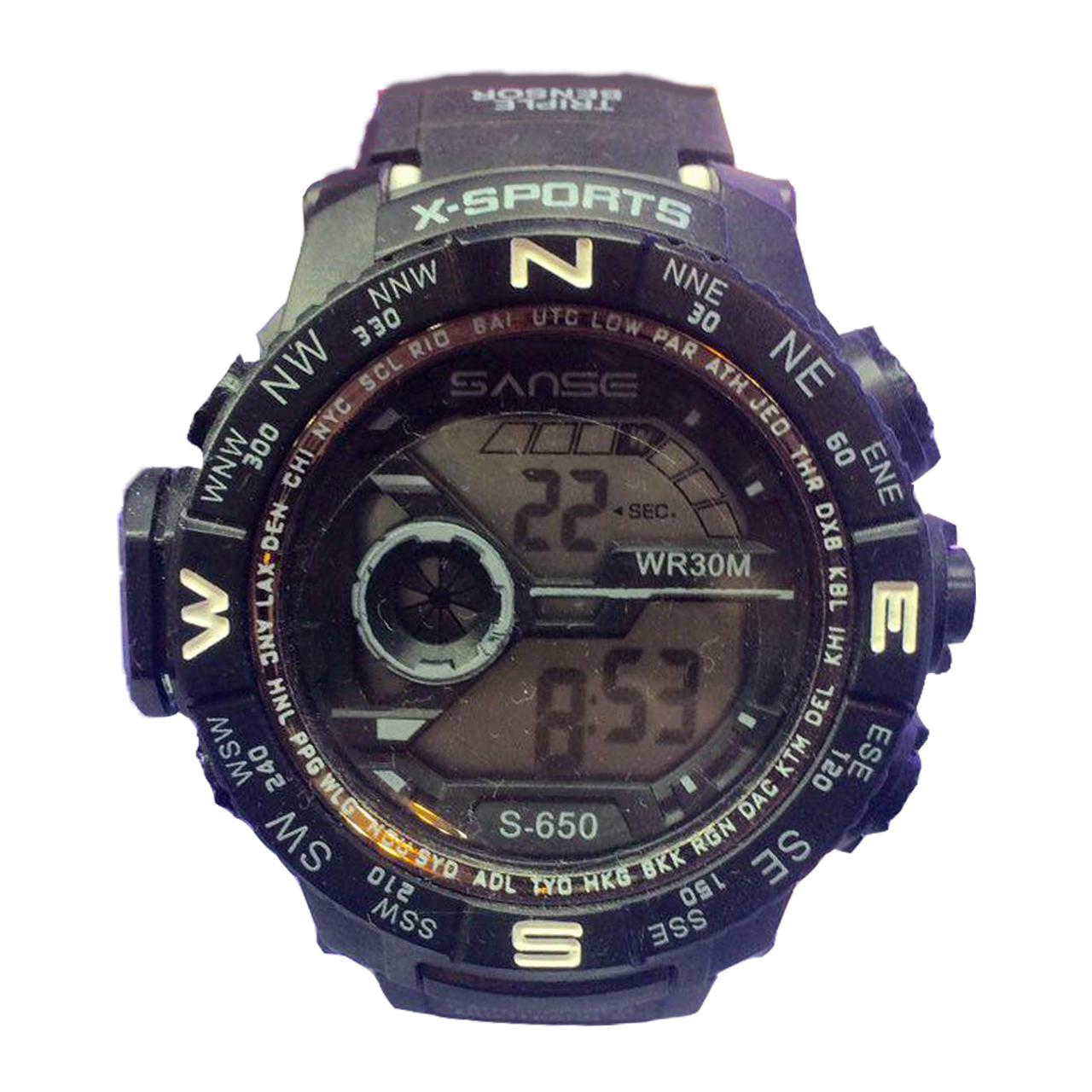 ساعت مچی دیجیتالی سانسه مدل x-sport