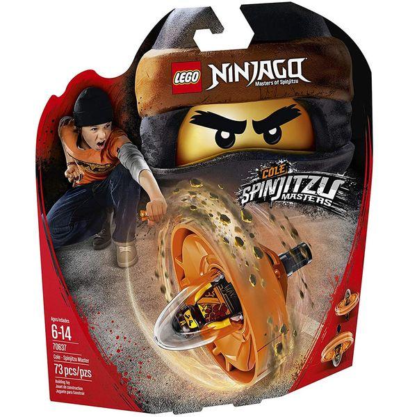 لگو سری NinJago مدل Cole Spinjitzu Master 70637