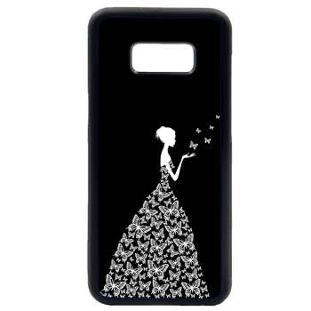 کاور طرح دخترانه مدل 0409 مناسب برای گوشی موبایل سامسونگ galaxy s8