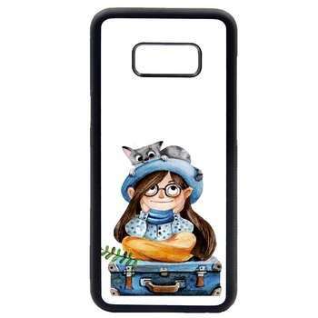 کاور طرح دخترانه مدل 0418 مناسب برای گوشی موبایل سامسونگ galaxy s8
