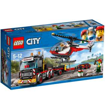 لگو سری City مدل Heavy Cargo Transport 60183