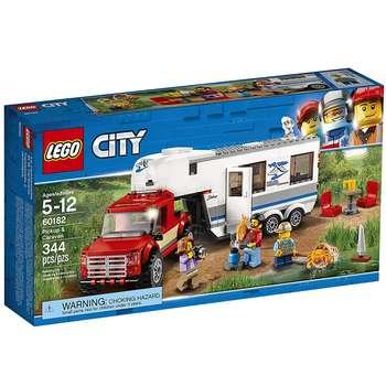 لگو سری City مدل Pickup And Caravan 60182