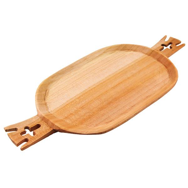 سینی دسته دار چوبی گیل چو کد 217017