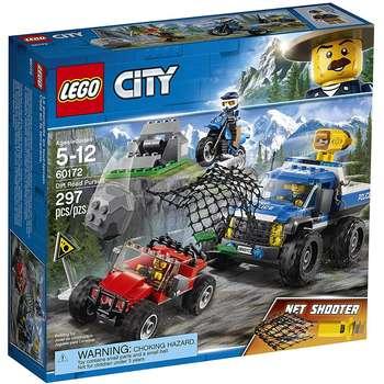 لگو سری City مدل Dirt Road Pursuit 60172