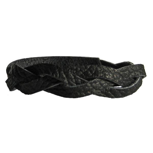 دستبند چرمی گاوی دانوب مدل گیسو کد 003