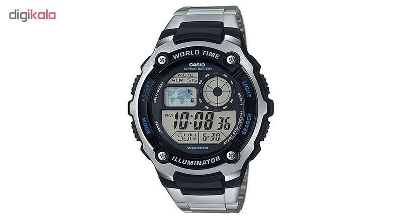 ساعت مچی دیجیتالی  کاسیو مدل AE-2100WD-1AVDF