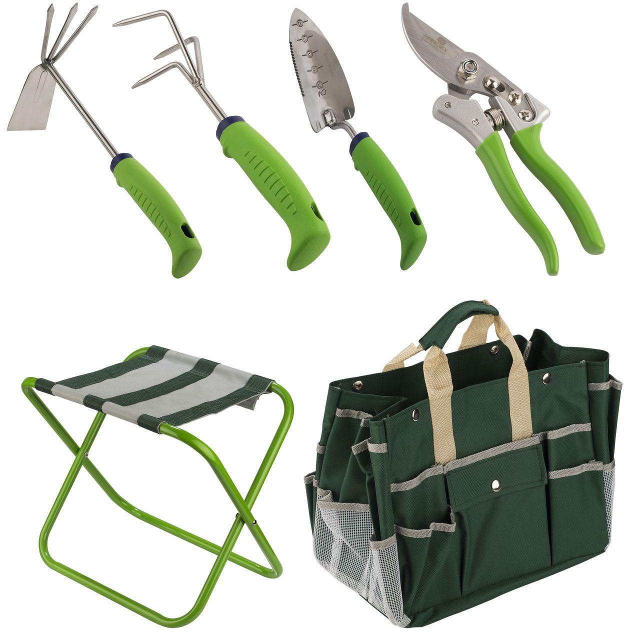 مجموعه 6 عددی ابزار باغبانی هاردکس مدل GS02