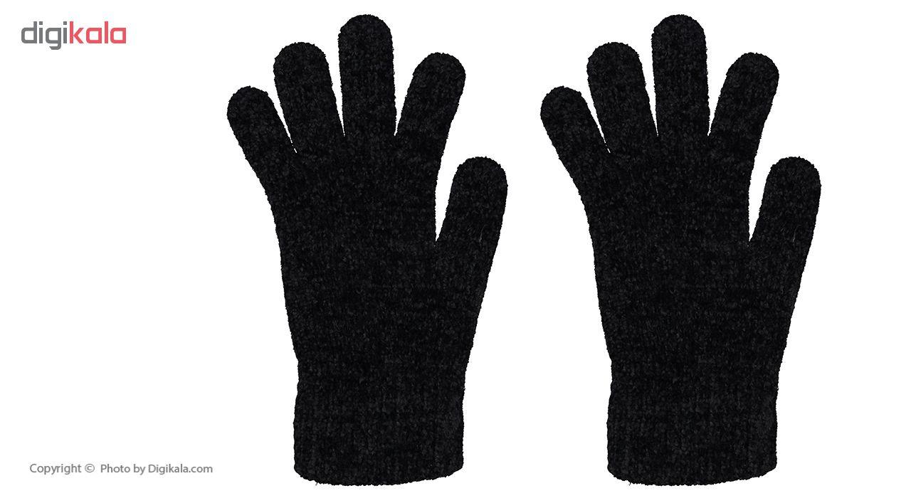 دستکش بافت زنانه مدل 003