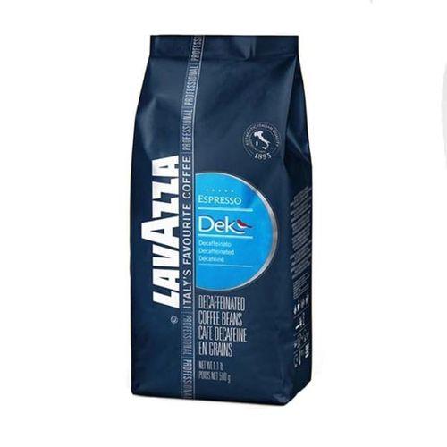 دانه قهوه  لاواتزا مدل Dek Espresso مقدار 500 گرم