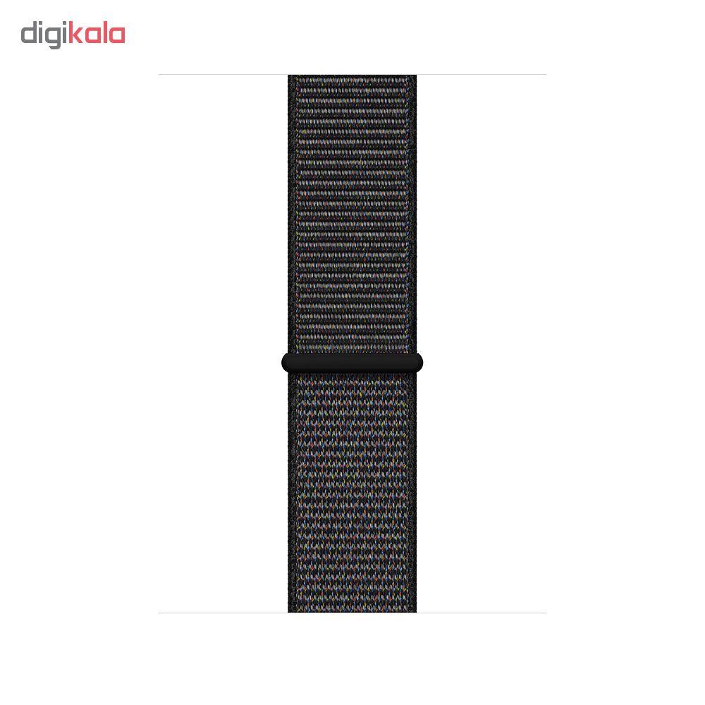 ساعت هوشمند اپل واچ 4 مدل 44mm Space Gray Aluminum Case with Black Sport Loop Band