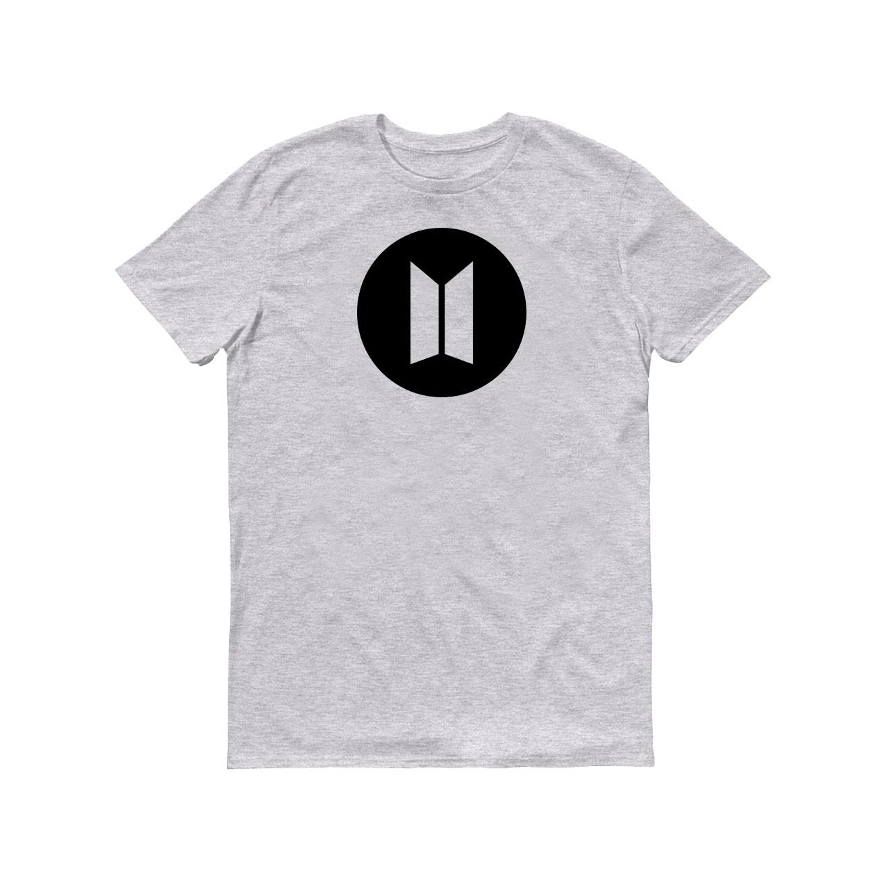 تی شرت مردانه طرح BTS BLACK کد 141-1