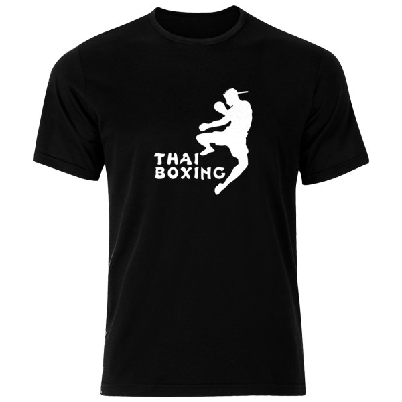 تی شرت ورزشی نخی مردانه فلوریزا  طرح موی تای بوکس کد thai boxing 001M تیشرت