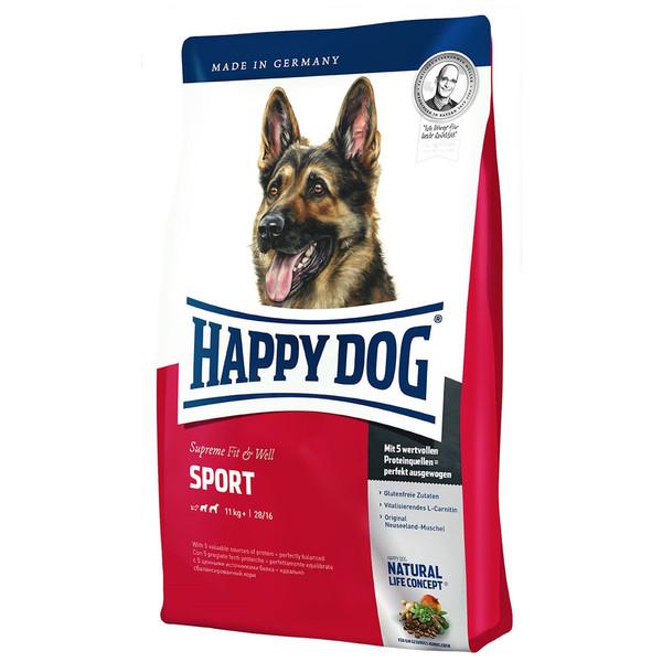غذای خشک سگ هپی داگ مدل مخصوص سگ های ورزشی و کاری 15 کیلوگرمی