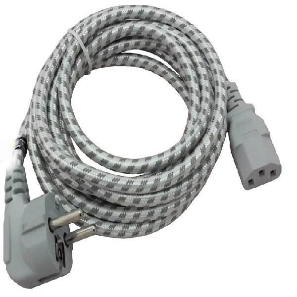 کابل برق سه پین منبع تغذیه کامپیوتر ایکس پی-پروداکت مدل Power Cable طول 1.5 متر