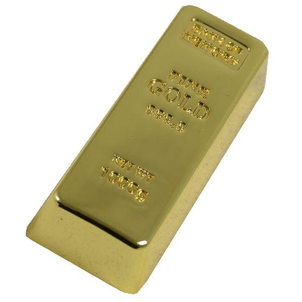فلش مموری آب طلا طرح شمش مدل Golden Memory1 رنگ طلایی