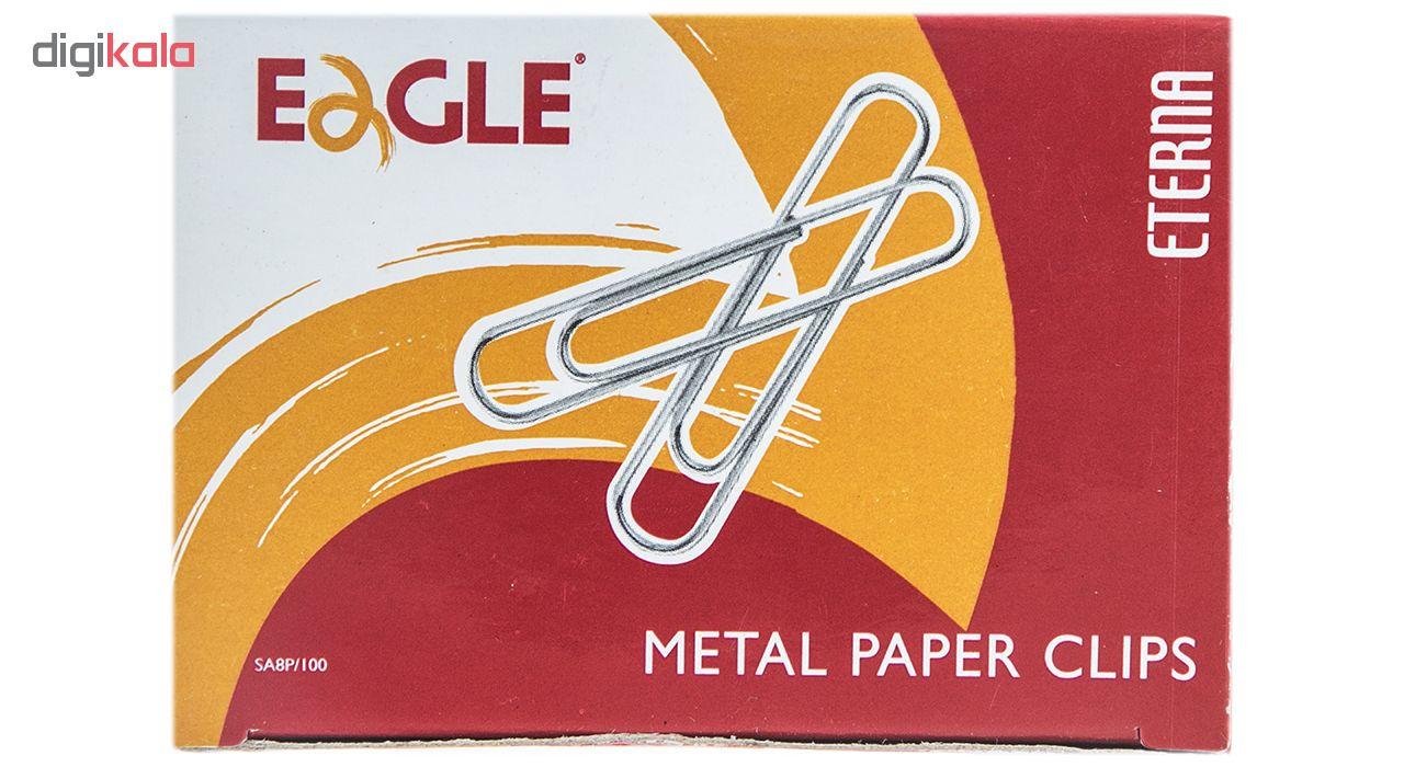 گیره کاغذ ایگل مدل SA8P-100 بسته 100 عددی main 1 2