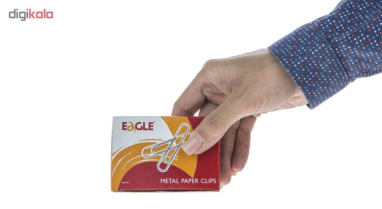 گیره کاغذ ایگل مدل SA8P-100 بسته 100 عددی main 1 6