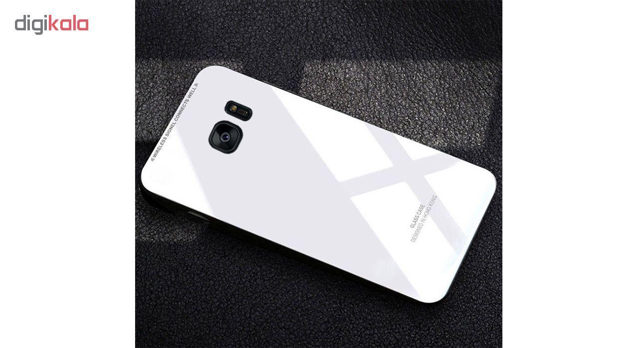 کاور مای کالرز مدل Glass Case مناسب برای گوشی Samsung Galaxy S7 Edge
