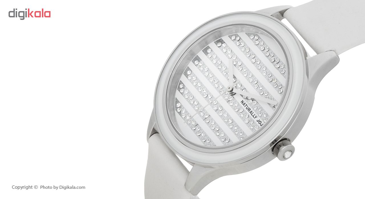 ساعت مچی عقربه ای زنانه نچرالی ژوژو مدل JO96828.80F