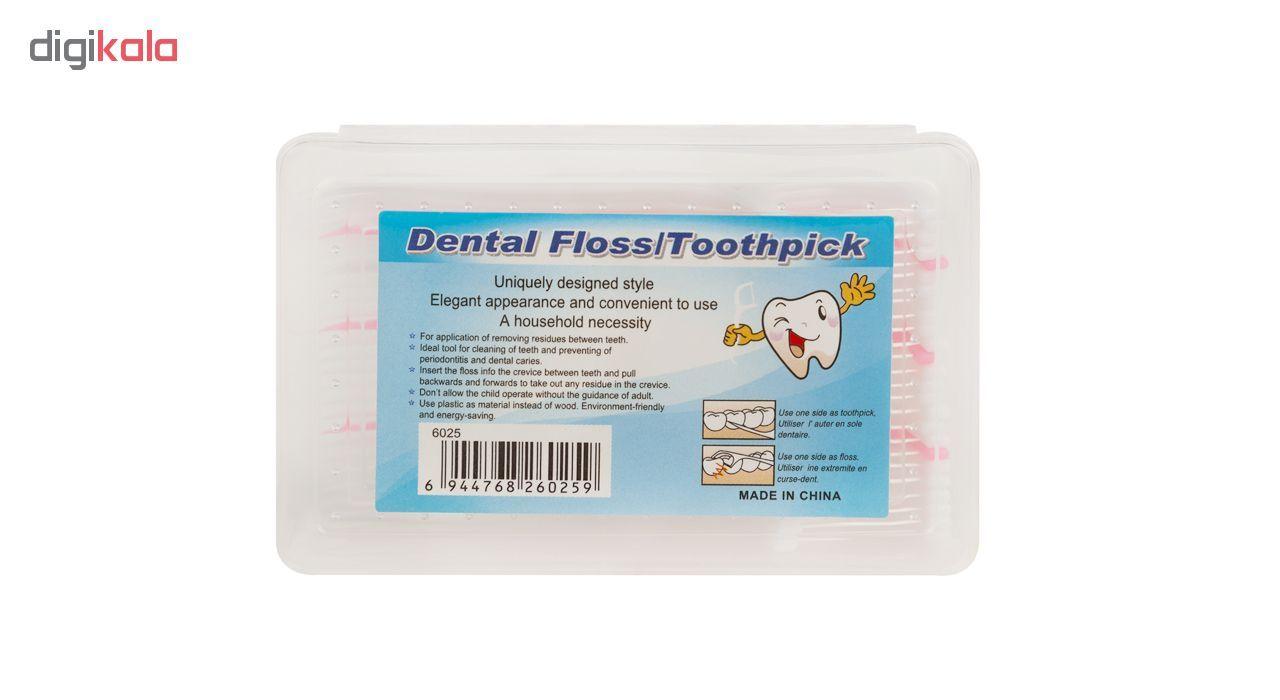 نخ دندان دنتال فلوس 25 عددی main 1 1