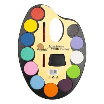 آبرنگ 12 رنگ پالتی ونیدز مدل BNP1