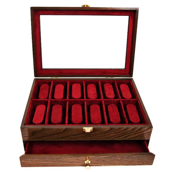جعبه ساعت و جواهرات مدل C113 سایز بزرگ