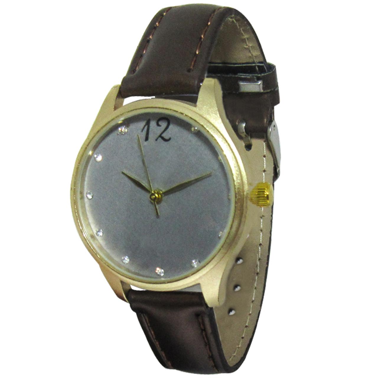 ساعت مچی عقربهای مدل CK 231 BROWN