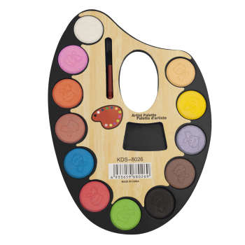 آبرنگ 12 رنگ پالتی مدل BNP3
