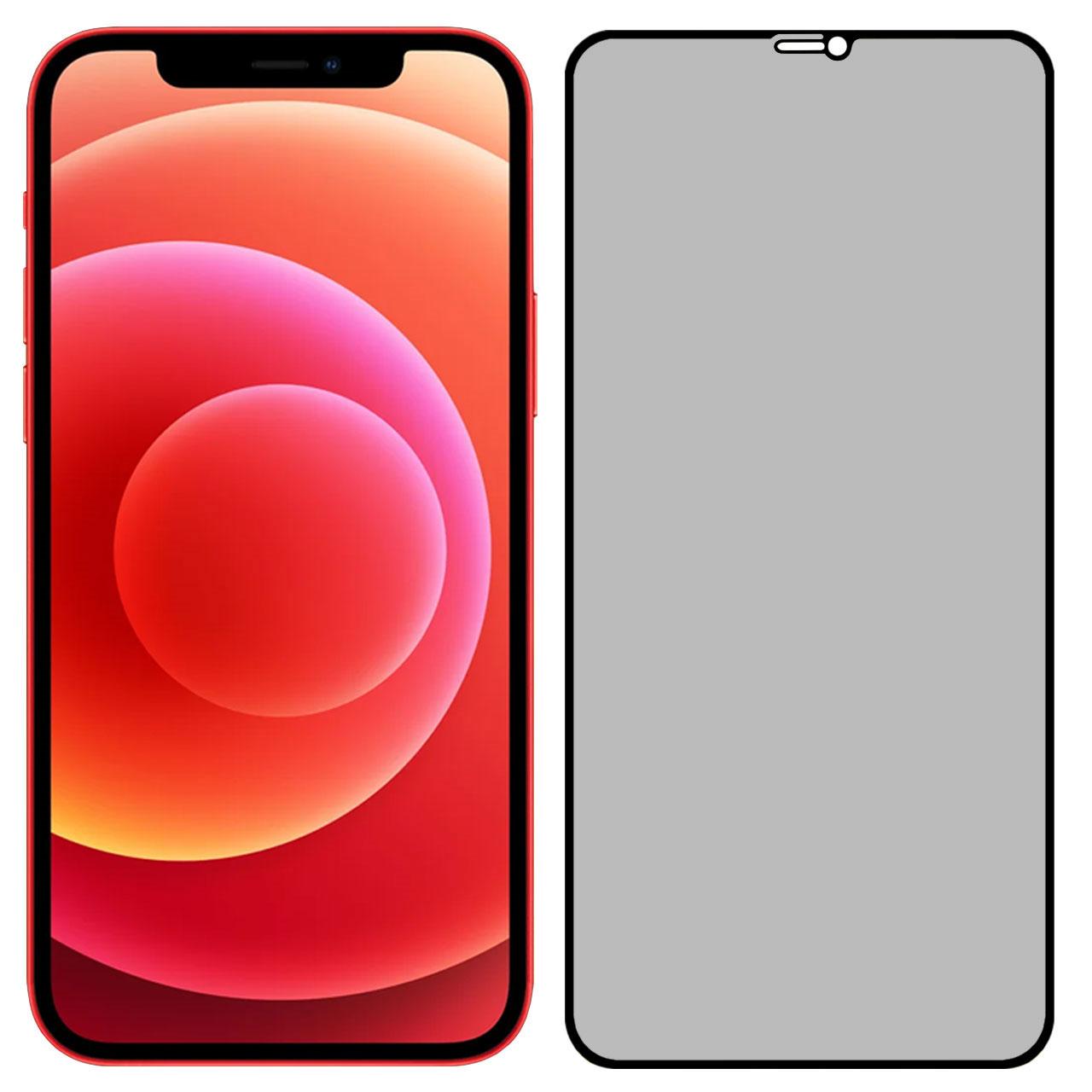 محافظ صفحه نمایش حریم شخصی مدل PRV مناسب برای گوشی موبایل اپل iPhone 12 / iPhone 12 Pro