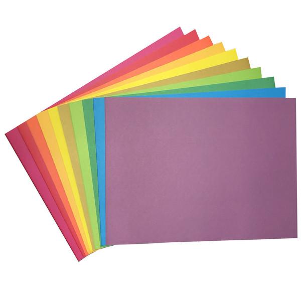 مقوا رنگی کد 04 سایز 24*34 (بزرگتر از A4) بسته 20 عددی