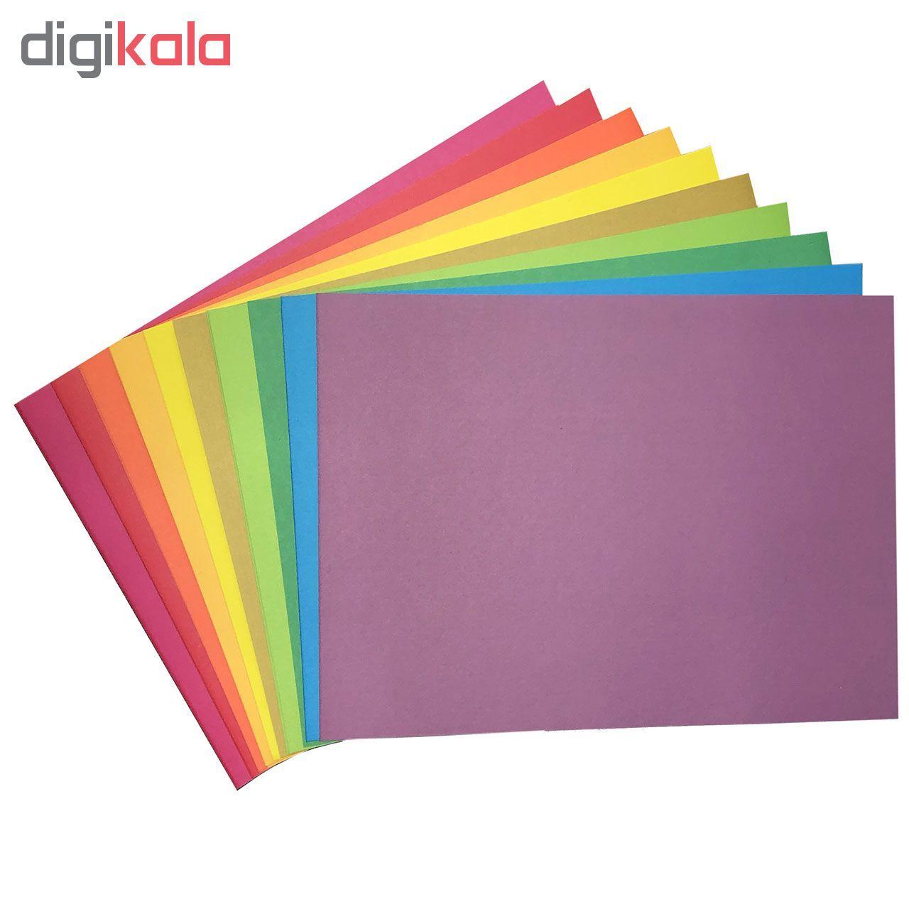 مقوا رنگی کد 04 سایز 24x34 (بزرگتر از A4) بسته 20 عددی main 1 1