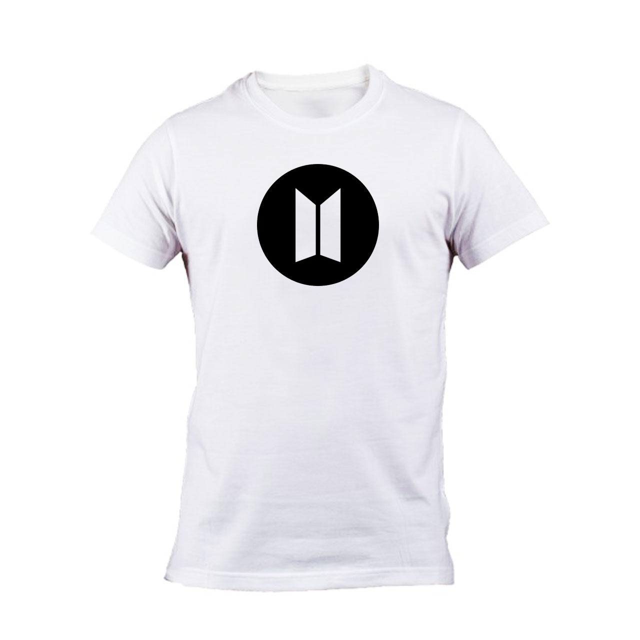 تی شرت مردانه طرح BTS BLACK کد 141