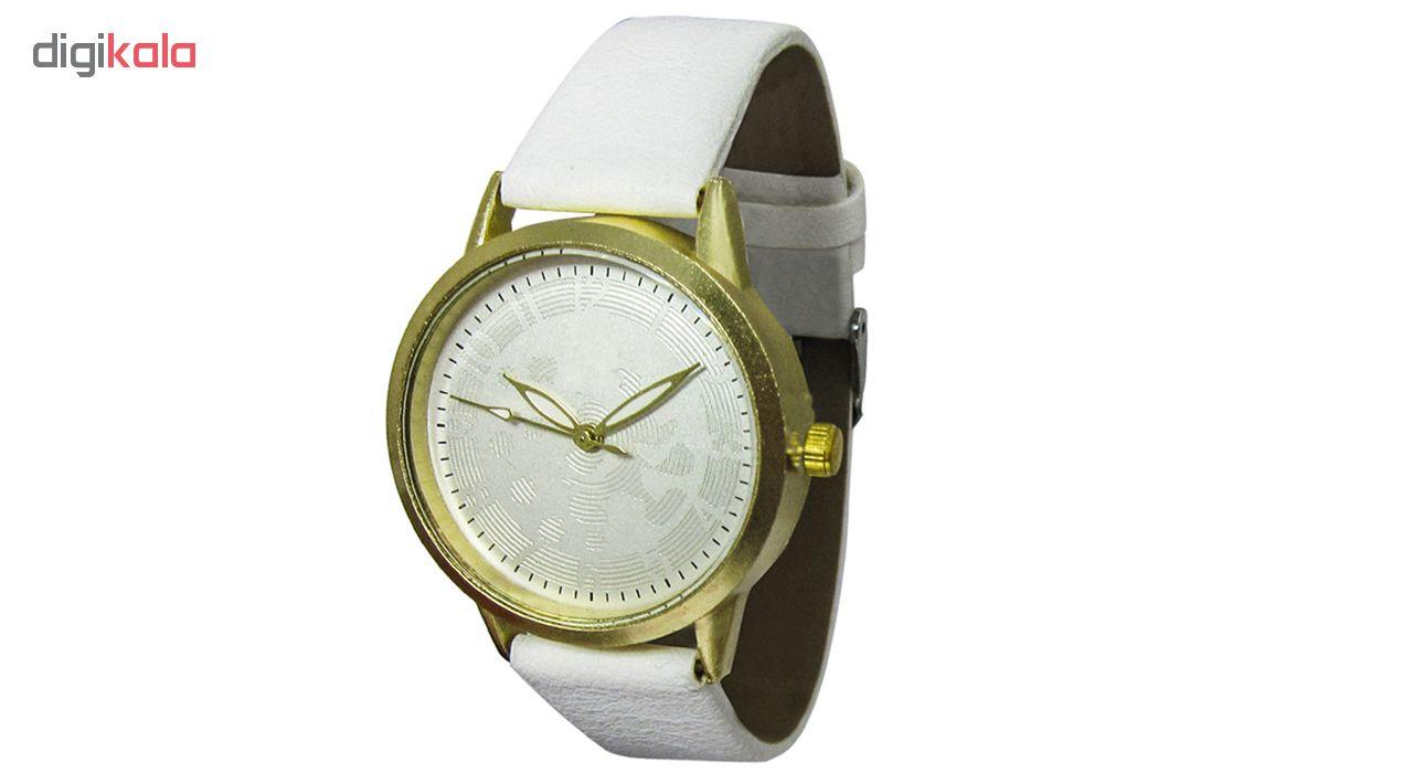 ساعت مچی عقربهای مدل CK 235  WHITE