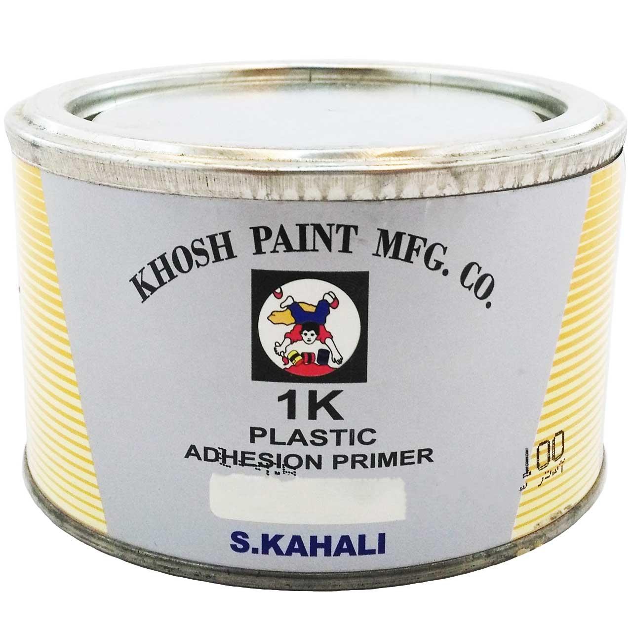 رنگ آستر سطوح پلاستیک خوش مدل ADHESION PRIMER حجم 500 میلی لیتر