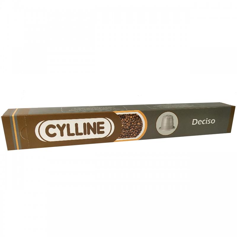 کپسول قهوه CYLLINE مدل Deciso