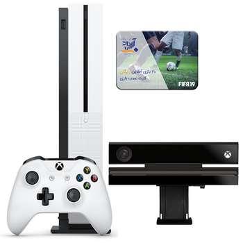 مجموعه کنسول بازی مایکروسافت مدل Xbox One S ظرفیت 1 ترابایت بهمراه ۲۰ عدد بازی