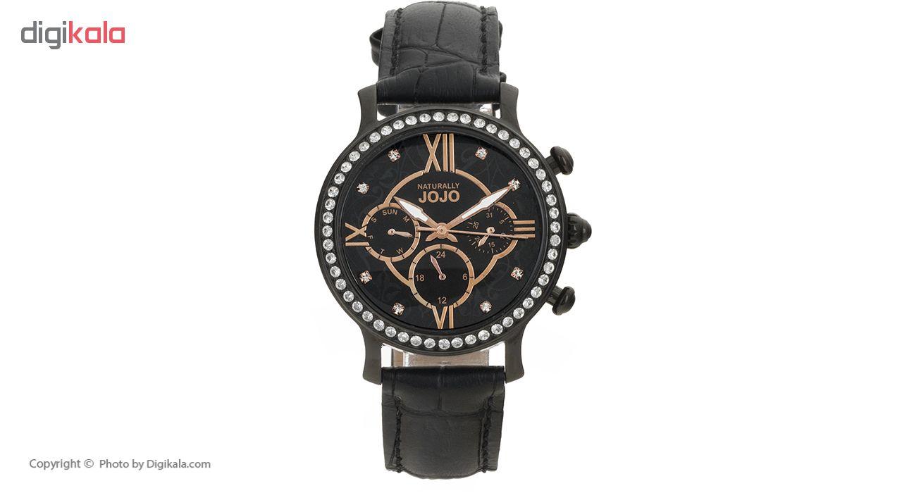ساعت مچی عقربه ای زنانه نچرالی ژوژو مدل JO96658.88R