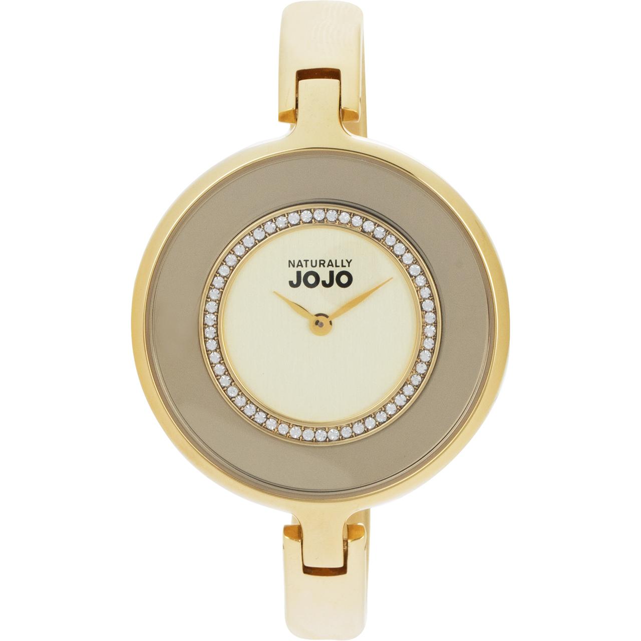 ساعت مچی عقربه ای زنانه نچرالی ژوژو مدل JO96678.GD 37
