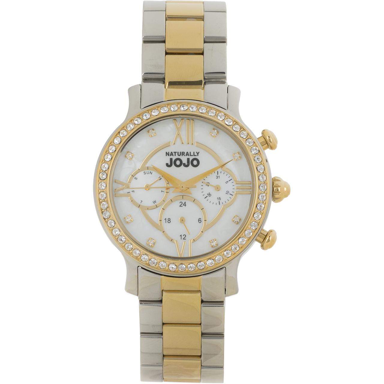 ساعت مچی عقربه ای زنانه نچرالی ژوژو مدل JO96658.80GM