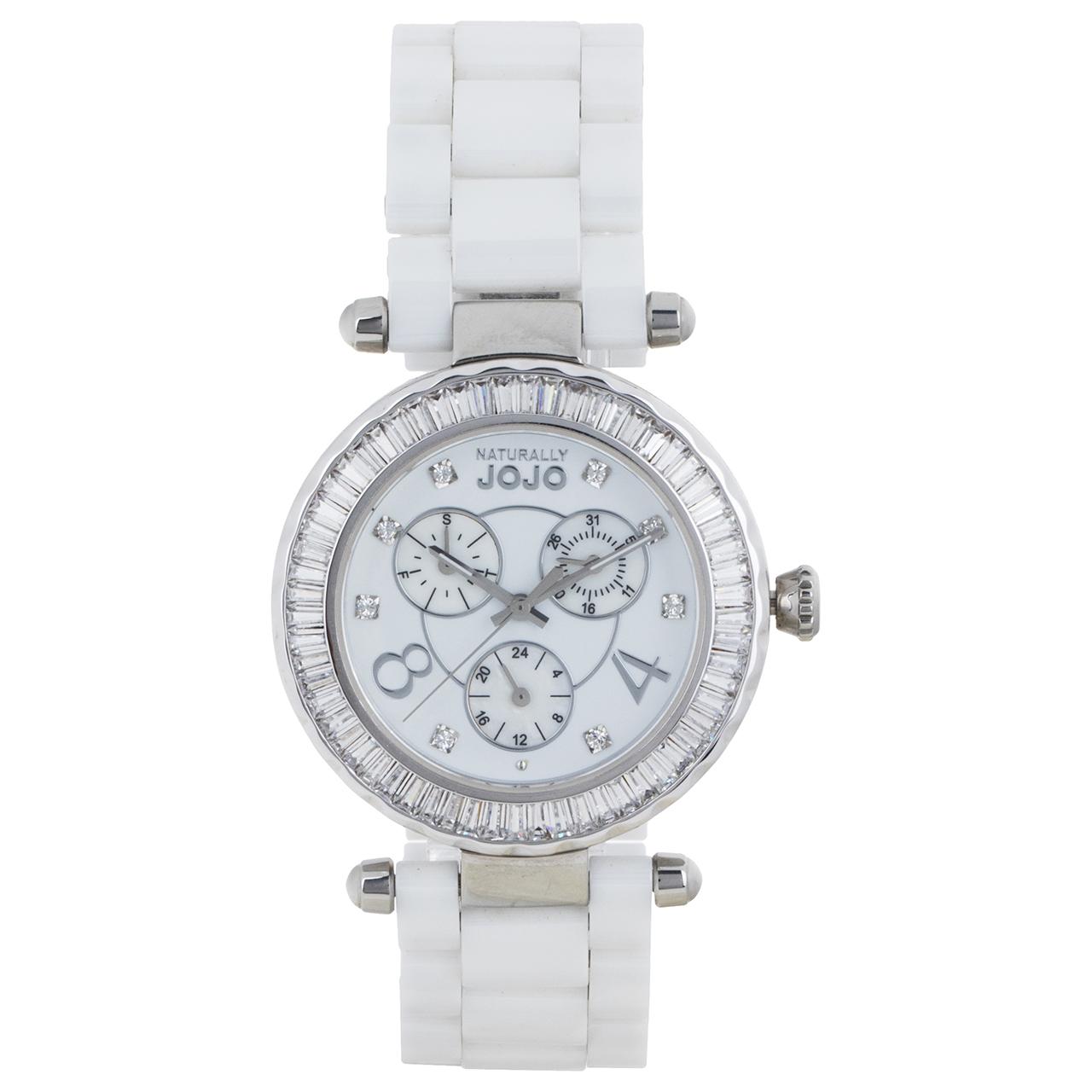 ساعت مچی عقربه ای زنانه نچرالی ژوژو مدل JO96680.80 25