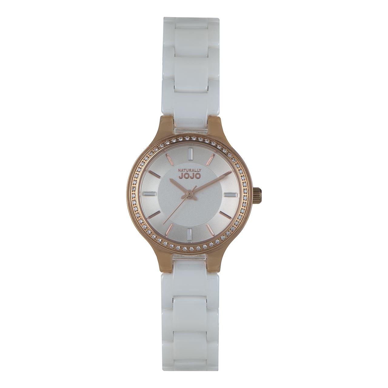 ساعت مچی عقربه ای زنانه نچرالی ژوژو مدل JO96867.80R