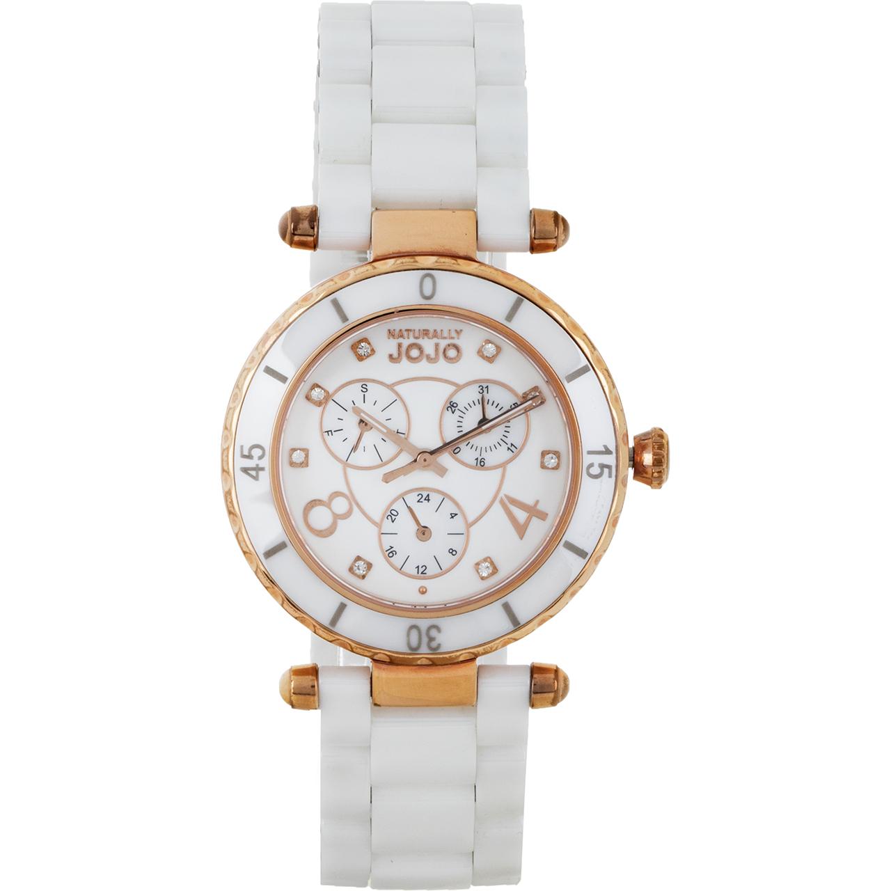ساعت مچی عقربه ای زنانه نچرالی ژوژو مدل JO96683.80R