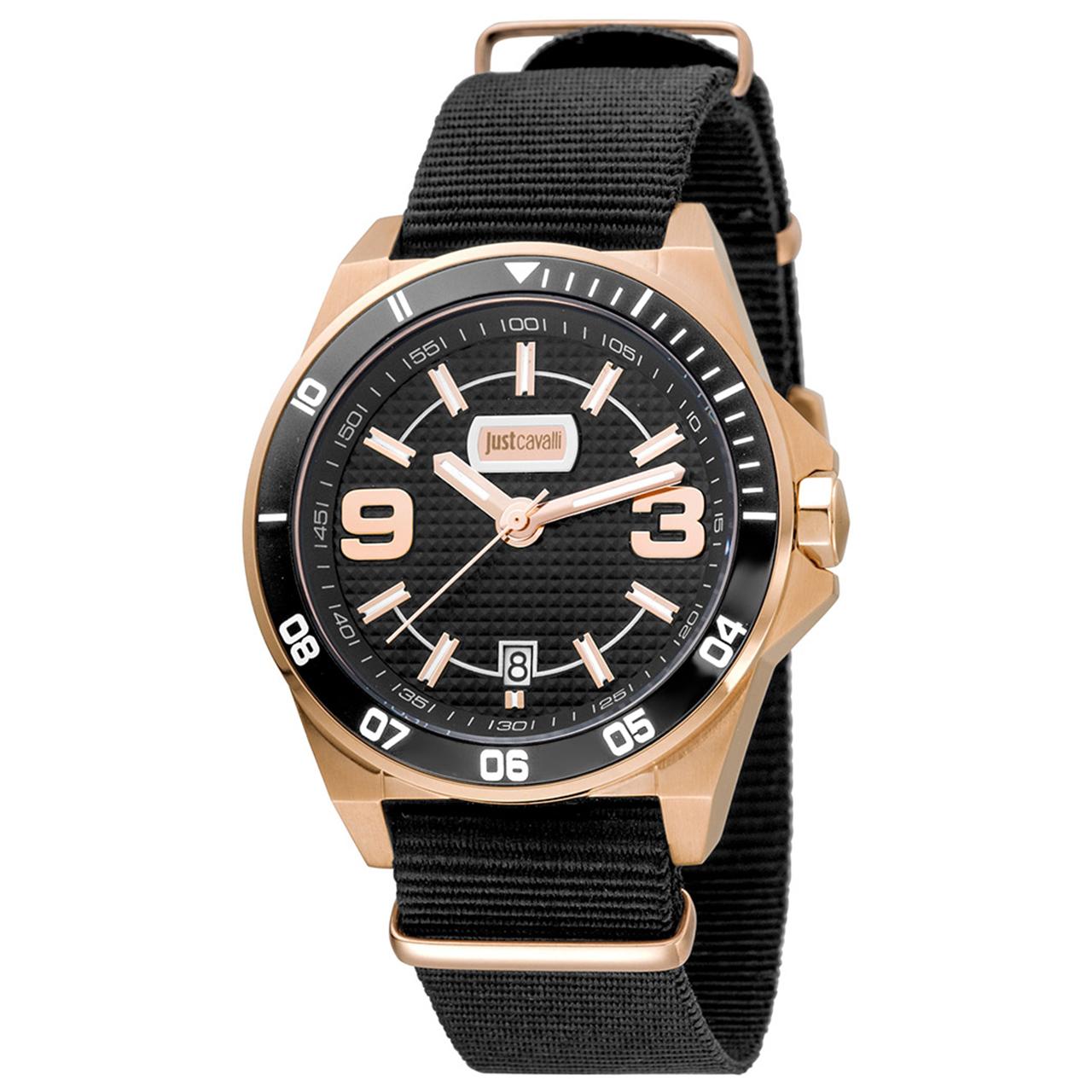 ساعت مچی عقربه ای مردانه جاست کاوالی مدل JC1G014L0035 1