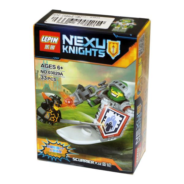 ساختنی لپین مدل Nexu Knights 03029A
