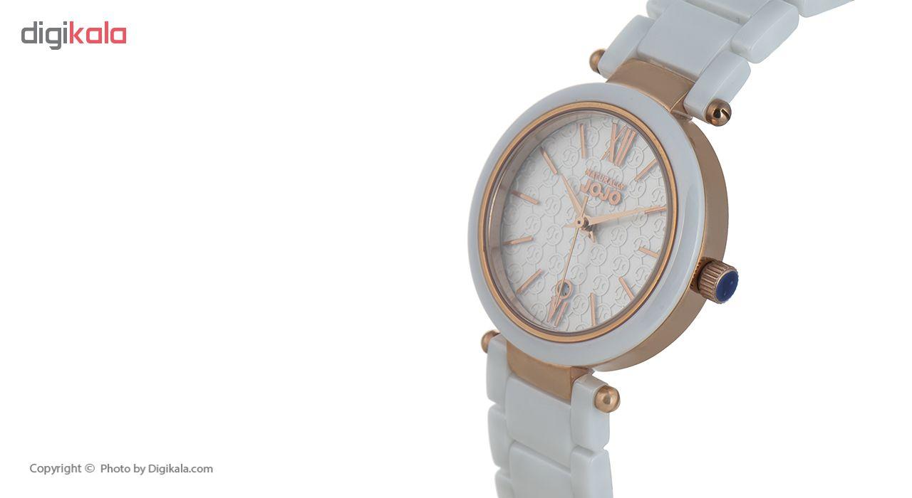 ساعت مچی عقربه ای زنانه نچرالی ژوژو مدل JO96879.80R