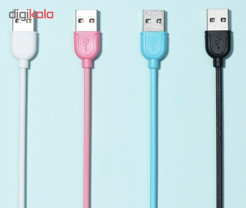 کابل تبدیل USB به microUSB ریمکس مدل RC 031m طول 1 متر