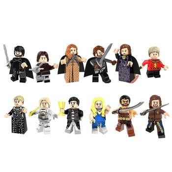 ساختنی مدل Game Of Thrones مجموعه 12 عددی