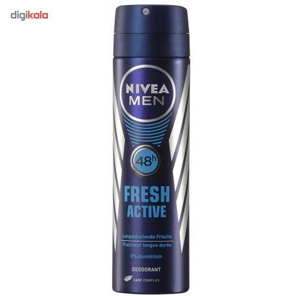 اسپری مردانه نیوآ مدل Fresh Active حجم 150 میلی لیتر - 2 عددی main 1 1
