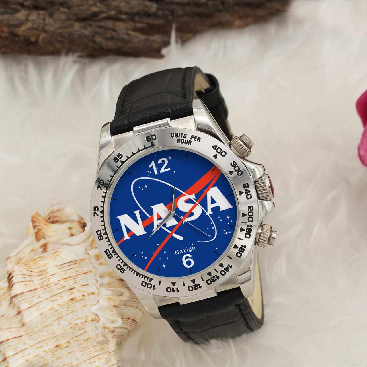 ساعت مچی  مردانه ناکسیگو طرح ناسا کد LS3572