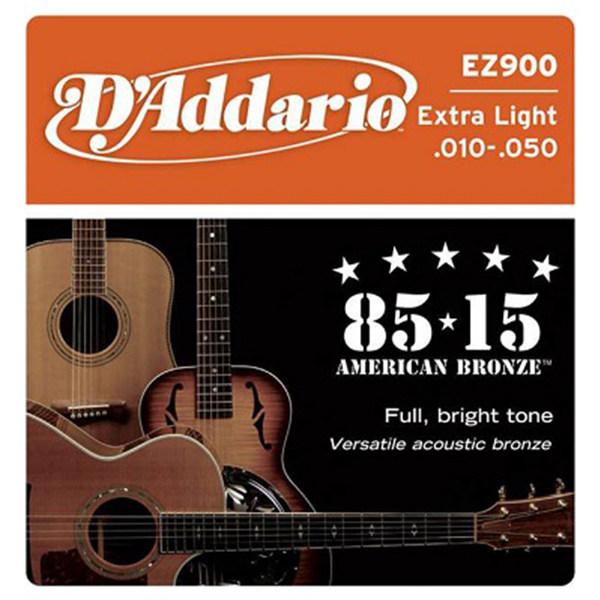 سیم گیتار اکوستیک داداریو مدل EZ900 010-050